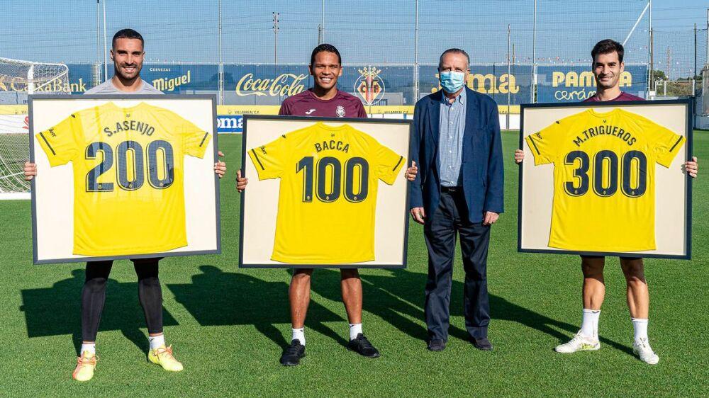 Carlos Bacca, homenaje Villarreal