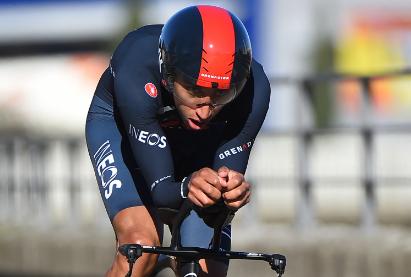 Egan Bernal es uno de los cinco colombianos que estarán en la Vuelta a España.