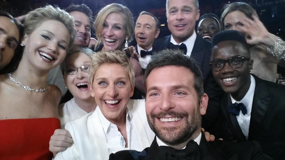 La foto de los premios Óscar 2014 más compartida en Twitter.jpg