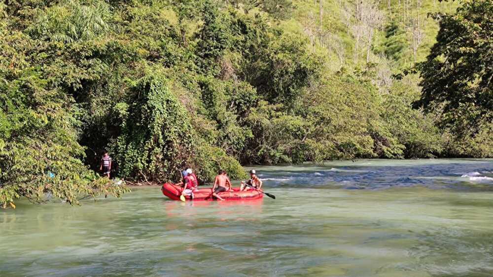 Periodista cayó en caudaloso río de Guatemala y murió Foto Coordinadora Nacional para la Reducción de Desastres de Guatemala.jpg