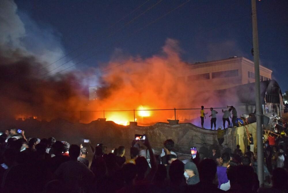 Incendio en centro de atención para pacientes COVID-19 en Irak