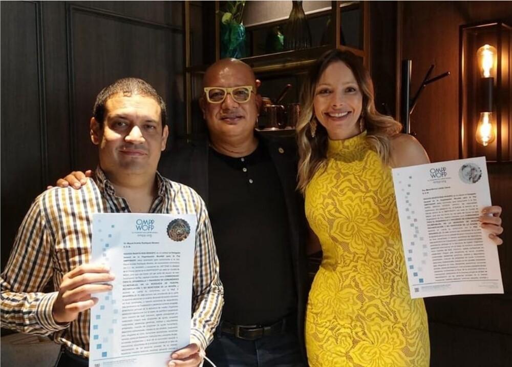 Hijos de los excapos Carlos lheder  y Miguel Rodríguez se reunieron para hablar de paz.jpg