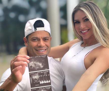 Hulk reveló que tendrá un bebé con Camila Sousa, la sobrina de su ex