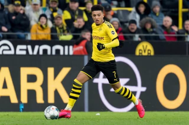 332028_Jadon Sancho, delantero Borussia Dortmund