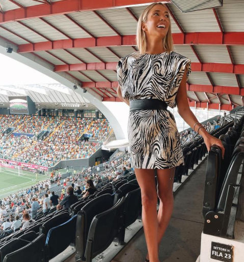 Alice Campello, pareja de Álvaro Morata, jugador de la Juventus..PNG