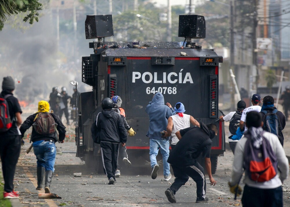 Protestas en Popayán  Foto AFP.jpg