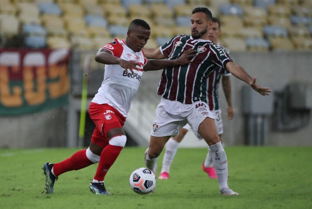 Santa Fe - Fluminense AFP.
