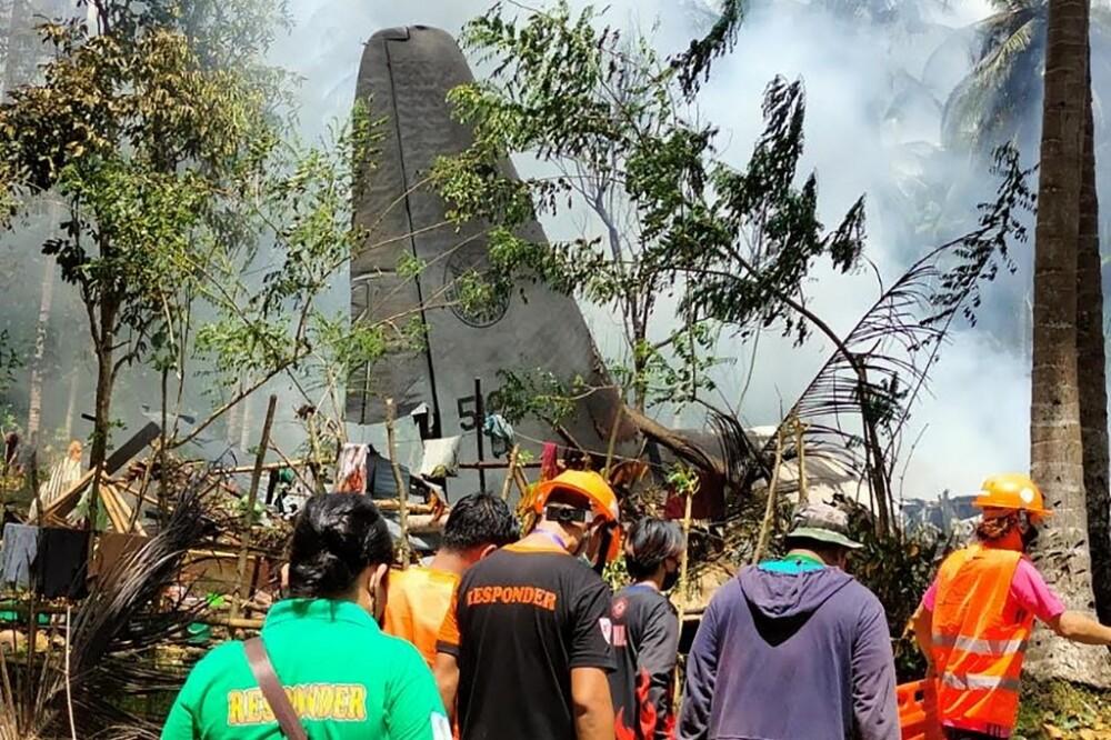Accidente de avión miAccidente de avión militar en Filipinaslitar en