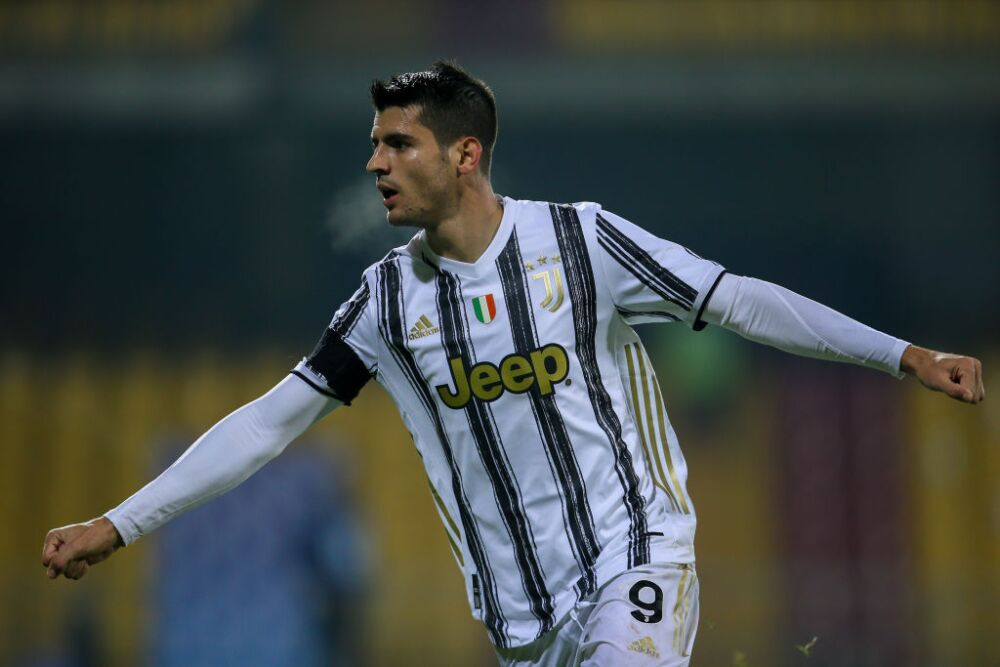 Álvaro Morata, gol Juventus