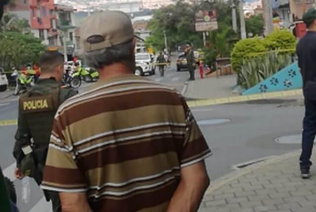 Homicidio de un menor de edad en la comuna 13 / Cortesía Guardianes Antioquia.