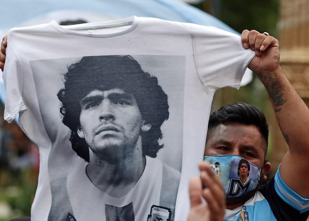 Homenajes a Maradona