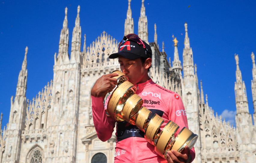 Egan Bernal es el actual campeón del Giro de Italia.