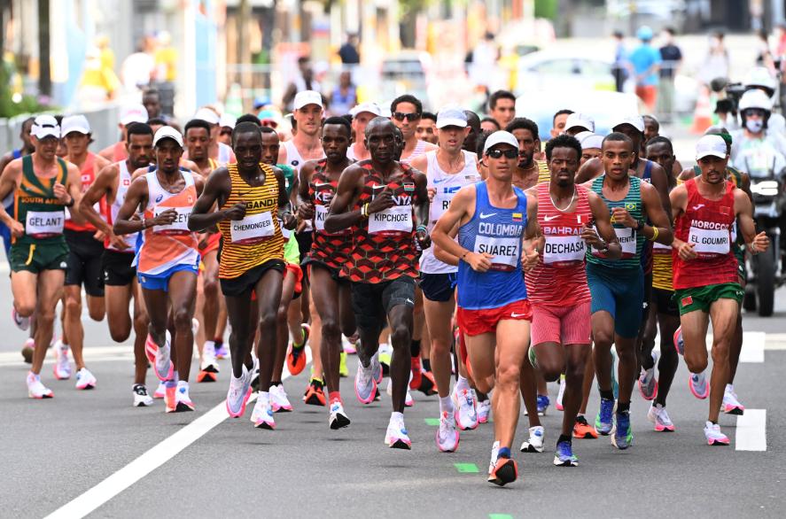 Jeisson Suárez finalizó en el puesto 15 de la maratón de los Juegos Olímpicos Tokio 2020.