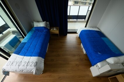 camas de la villa olímpica