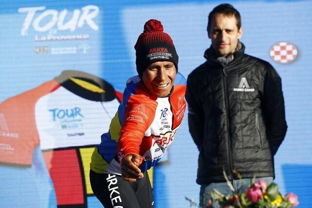 Nairo Quintana, ciclista colombiano del Arkea.