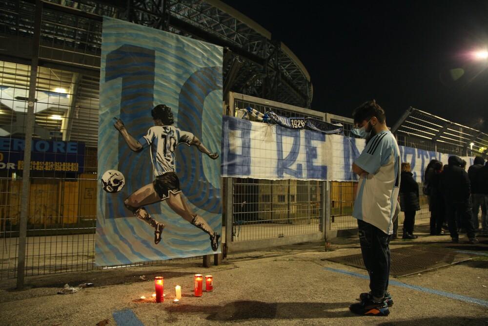 Estadio Diego Armando Maradona / AFP