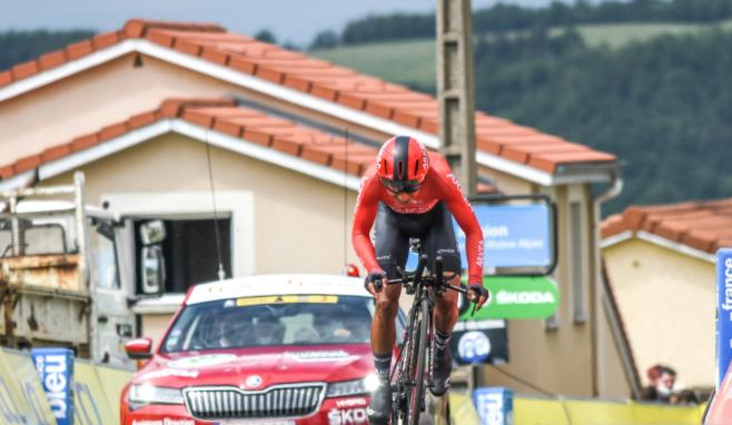 Nairo Quintana es 25 en la general del Critérium del Dauphiné tras la etapa 4.