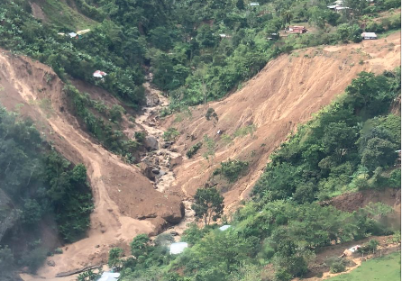 Derrumbe Dabeiba Antioquia 2020