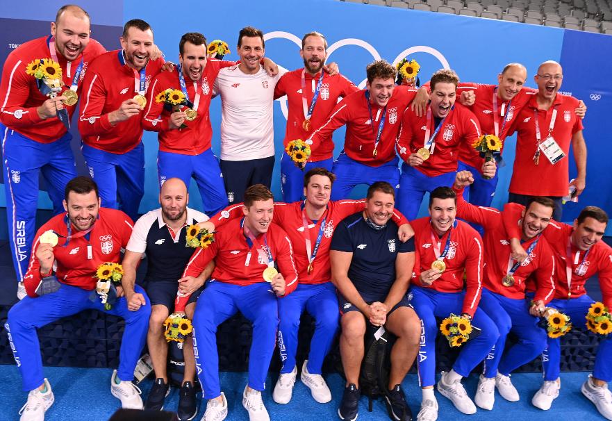 Serbia ganó la última medalla de oro de los Juegos Olímpicos Tokio 2020.