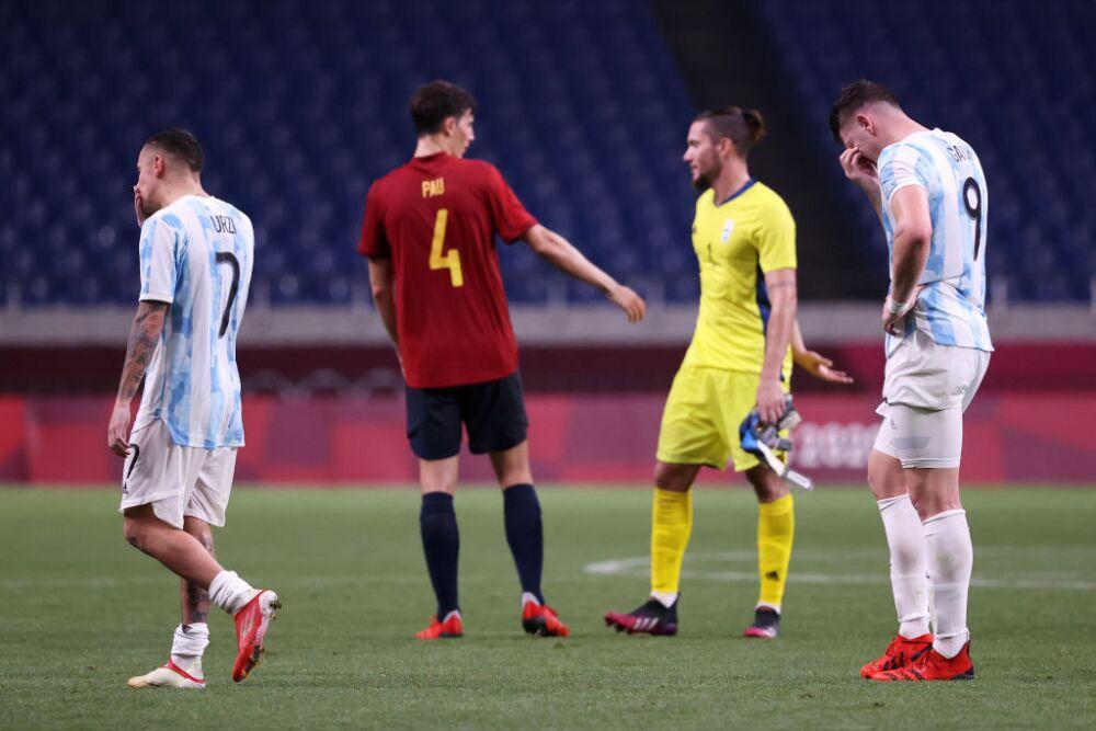 Spain v Argentina: Men's Football - Olympics: Day 5