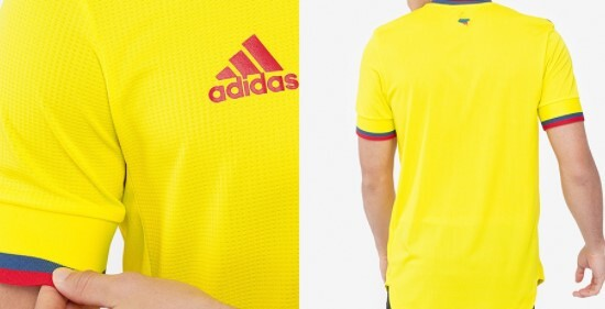 Nueva camiseta Colombia