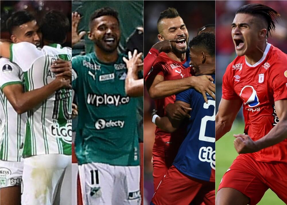 355279_BLU Radio. Atlético Nacional, Deportivo Cali, DIM, América / Fotos: AFP
