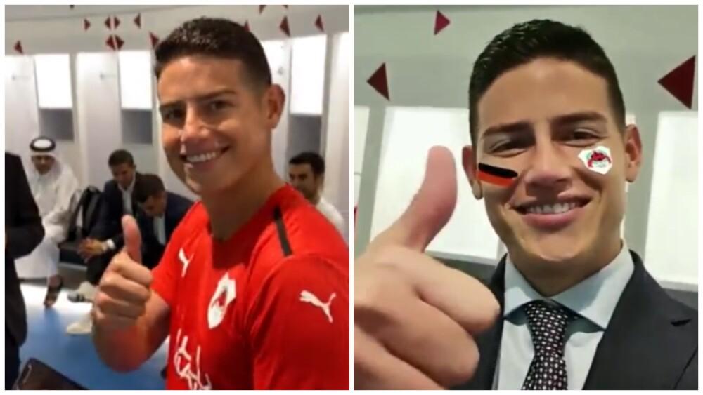 James Rodríguez, nuevo jugador de Al-Rayyan