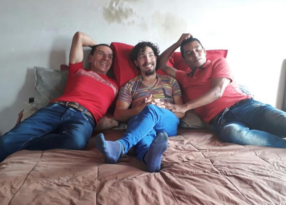 285780_BLU Radio. Manuel Bermúdez, Víctor Hugo Prada y Alejandro Rodríguez / Foto: Cortesía