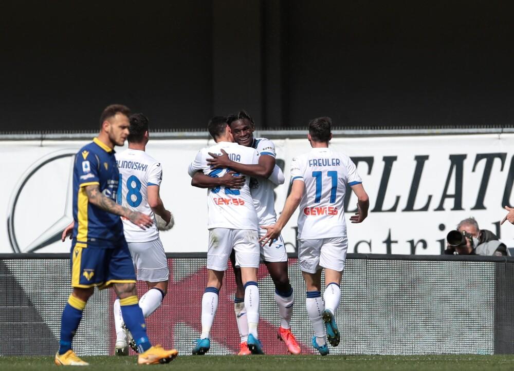 Duvan Zapata, Hellas Verona vs Atalanta