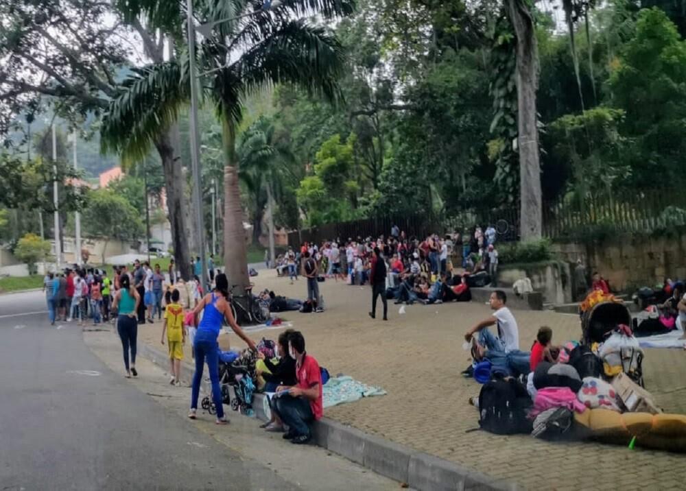 359388_BLU Radio. Venezolanos en el parque del Agua / Foto: BLU Radio