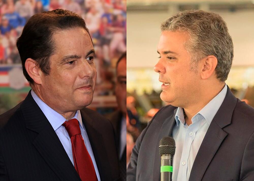 Vargas Lleras e Iván Duque / Foto: AFP-FB
