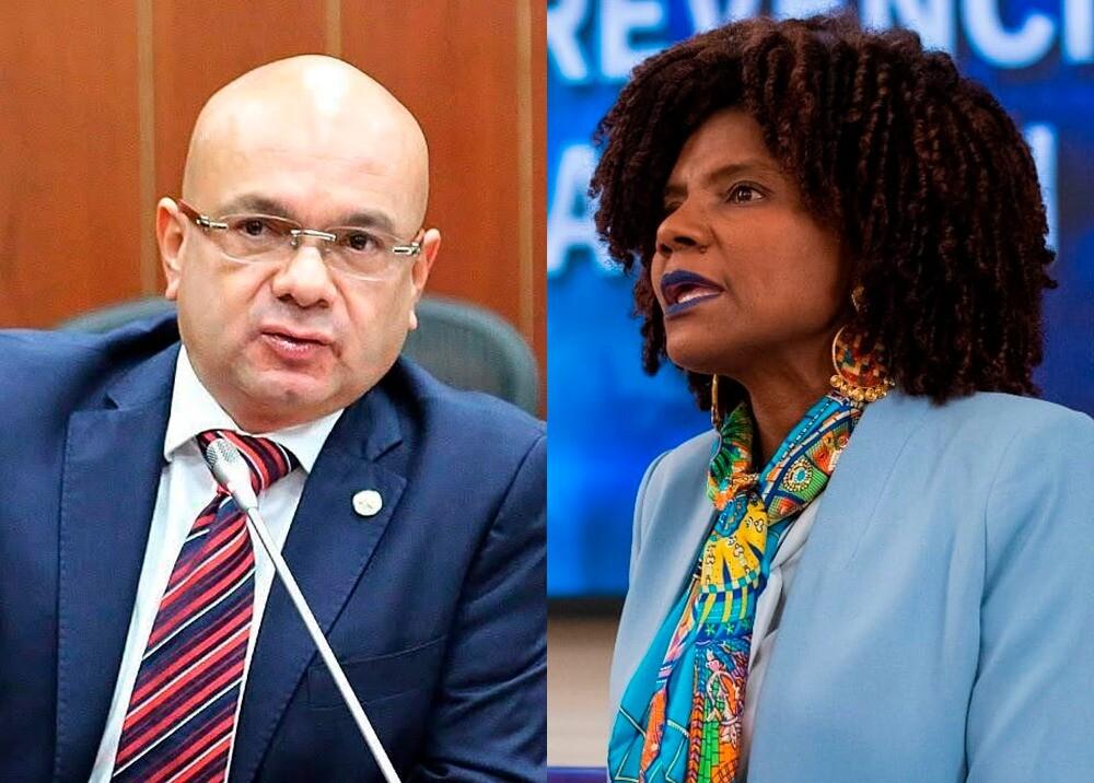 373930_Iván Agudelo y Mabel Torres // Fotos: Senado - MinCiencias