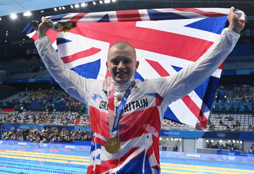 Adam Peaty se coronó campeón de los 100 metros pecho de la natación en los Juegos Olímpico.