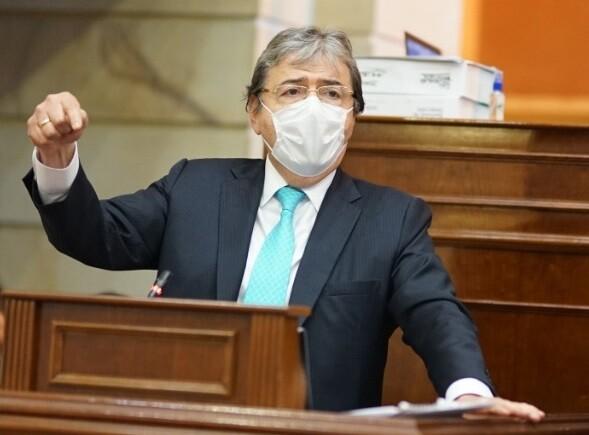 carlos holmes trujillo ministro de defensa de colombia qepd foto colprensa nota enero 26 2021.jpg