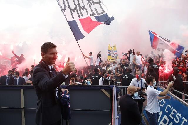 Lionel Messi, tras su llegada al PSG