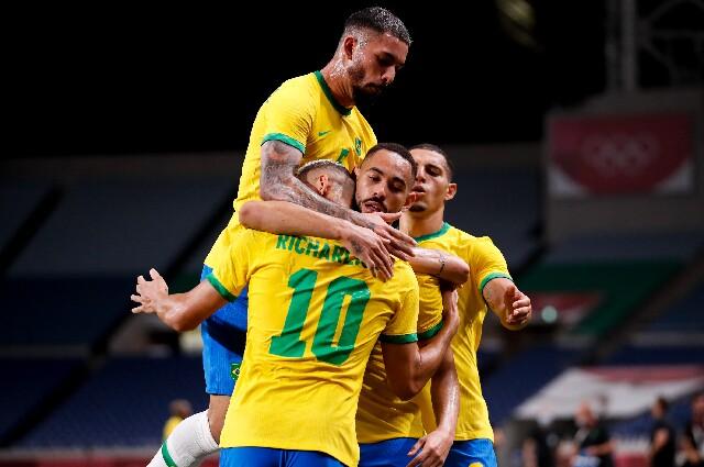 Brasil contra Egipto, en los Juegos Olímpicos de Tokio 2020