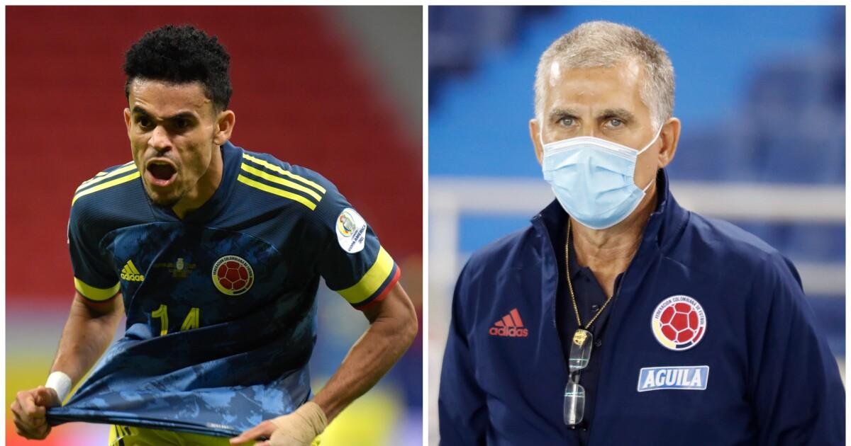 "Lo mejor que dijo Queiroz en Colombia: ""Luis Díaz me hace recordar a Figo, a Cristiano Ronaldo"""