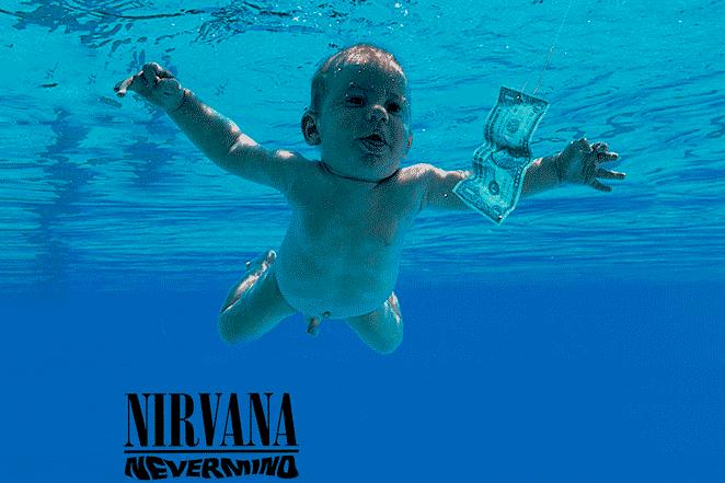 Spencer Elden, modelo del disco Nevermind, de Nirvana es uno de los modelos de portadas de discos que demandaron a los artistas.