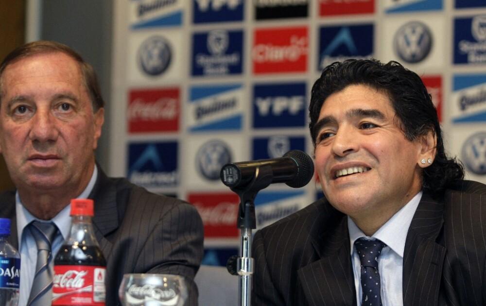 Carlos Bilardo y Diego Maradona