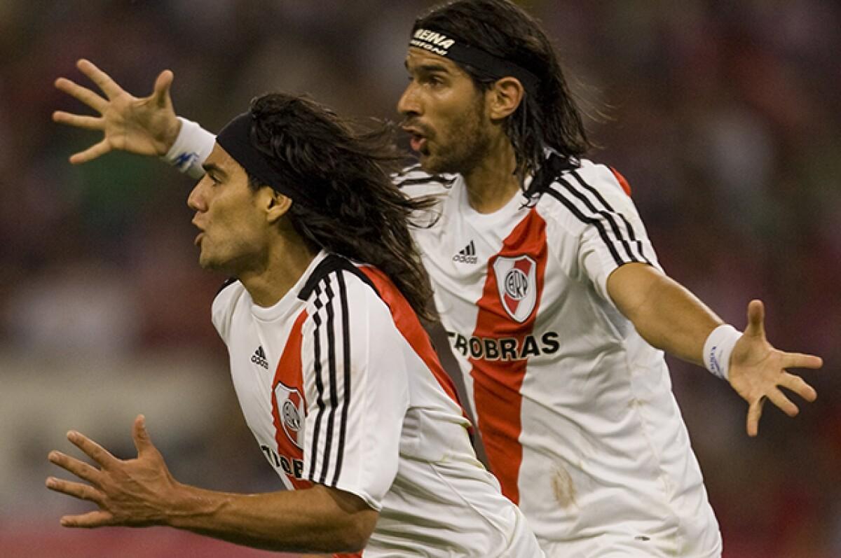 """La dupla de ataque con Falcao en River Plate fue fantástica"""": Sebastián  Abreu"""