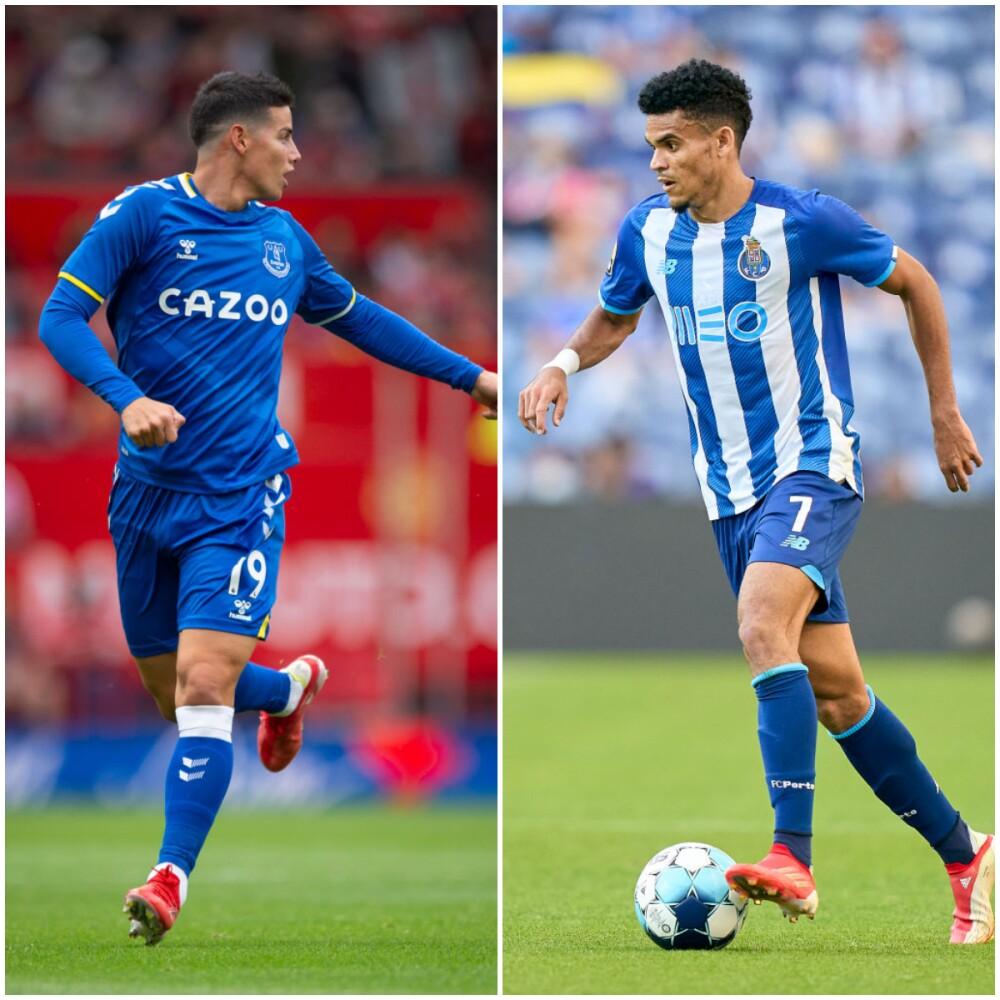 James Rodríguez y Luis Díaz, jugadores colombianos..jpg