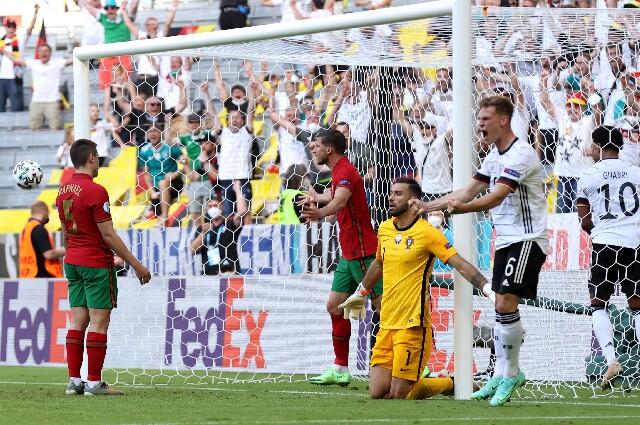 Autogol de Portugal contra Alemania, en la Eurocopa