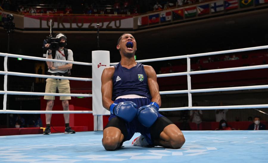 Hebert Conceição Souza ganó el oro en el boxeo de los Juegos Olímpicos Tokio 2020.