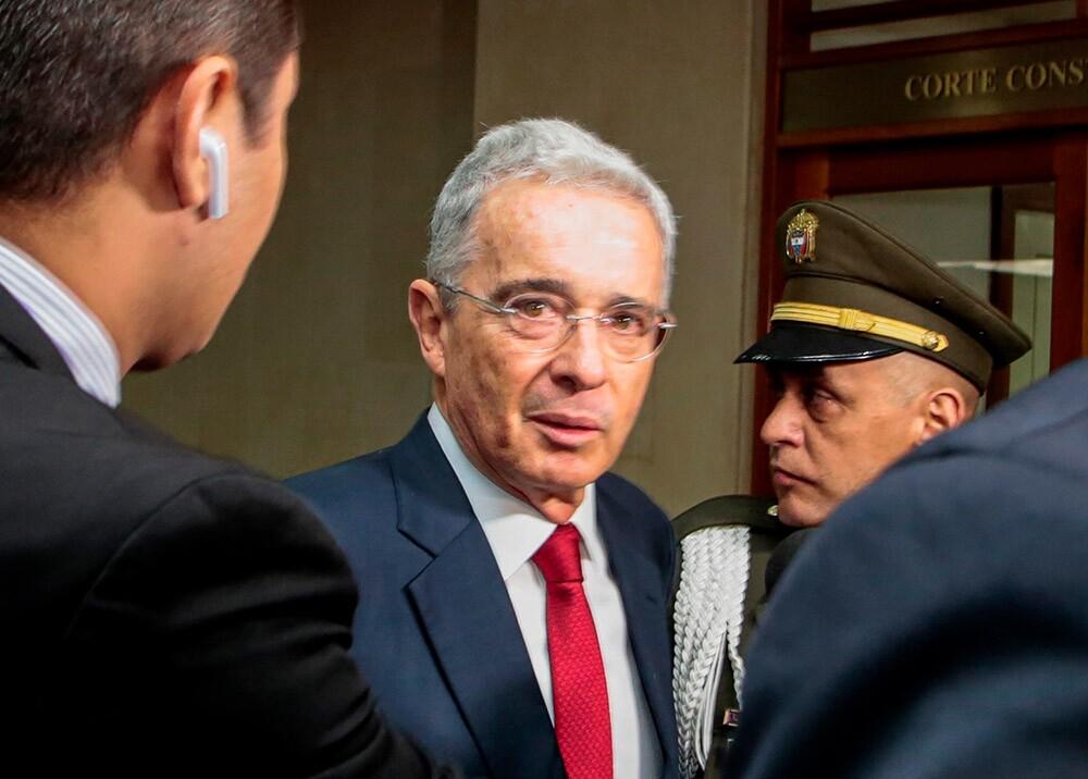 364251_Álvaro Uribe Vélez // Foto: AFP