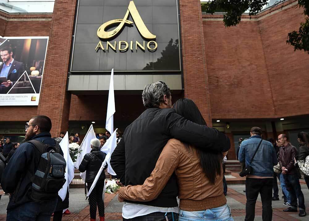335513_BLU Radio // Centro Comercial Andino / Foto: AFP