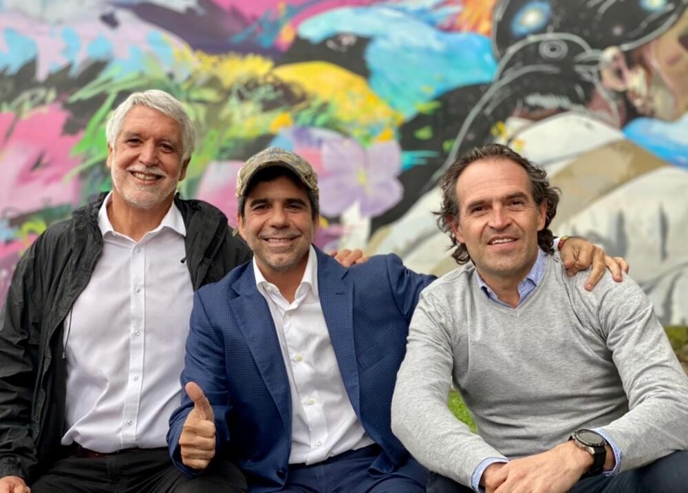 Enrique Peñalosa Alex Char y Federico Gutiérrez Foto suministrada.jpg