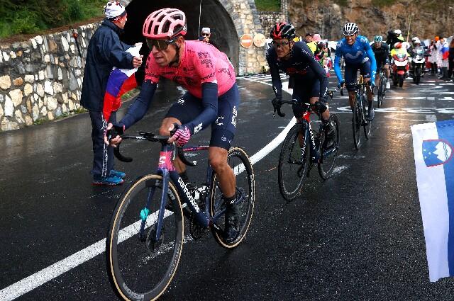Rigoberto Urán, en el Tour de Francia