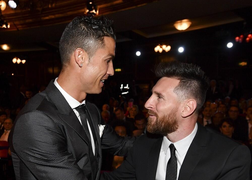 329761_BLU Radio. Cristiano Ronaldo y Lionel Messi / Foto: AFP