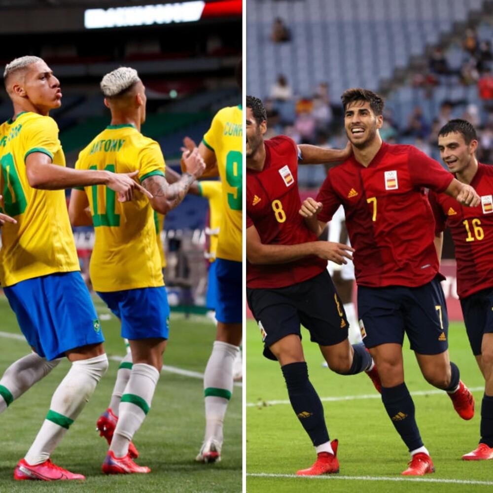 Brasil se medirá contra España en la final de los Juegos Olímpicos..jpg