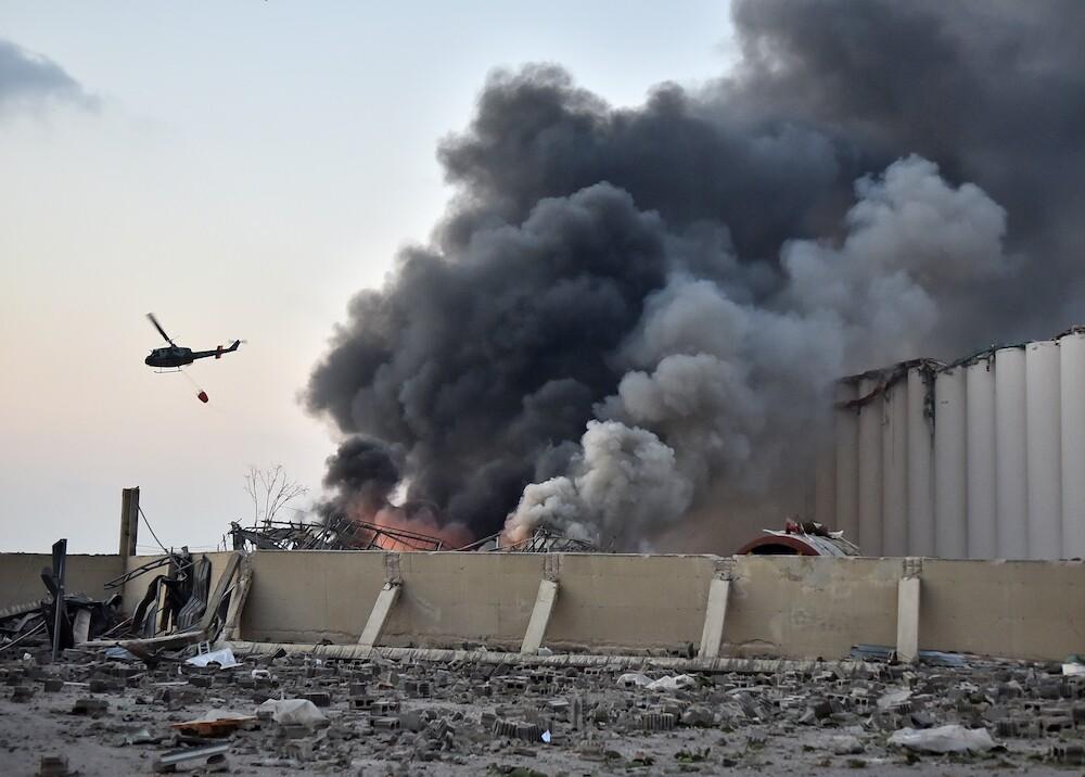 373265_Explosión en Beirut / AFP
